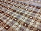 Vinyl PVC Tablecloth Wipe Clean Brown Beige Checks Hearts Gingham Oilcloth 140cm