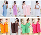 Women Lady's Body Wrap Bikini Cover Up Bath Towel Spa Beach Skirt Dress Bathrobe