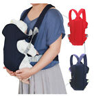 Adjustable Baby Kid Safety Carrier Sling Wrap Infant Comfort Backpack Front New