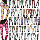 Sexy Women Skinny Leggings Graphic Printed Stretchy Jeggings Pencil Tight Pants