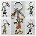 Kingdom Hearts II 2 Sora Roxas Axel Keychain Key Chains Pendant Free Shipping