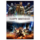230 Star wars the old republic Personalised greeting card best special great big