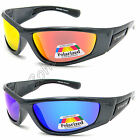 Mens UV400 Eyelevel Polarized Sports Sunglasses Mirrored Skiing Bikers Fishing