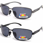NEW Mens Polarized Eyelevel UV400 Sunglasses Fishing Metal Black Grey Anti Glare