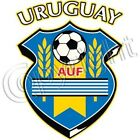 New URUGUAY FLAG WORLD CUP SOCCER SHIELD T-Shirts Small to 5XL BLACK or WHITE