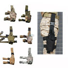 Adjustable Tactical Pistol/Gun Drop Leg Thigh Holster w/ Mag Pouch Right Hand