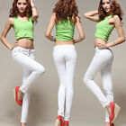 New Fashion Women 16 Candy Color Slim Feet Pencil Pants Skinny Leggings Jeggings