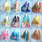 *US Seller* lot of 10 boho vintage retro chiffon wrap shawl Wholesale Scarves