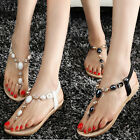 2014 New womens sandals beaded shoes fashion and comfort flip flops thong sandal