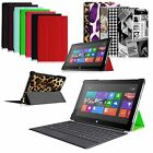 Slim Case Stand Cover for Microsoft Surface RT Surface 2 10.6 w/ Keyboard Holder