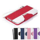 Luxury PU Leather Flip Wallet Case Cover For Samsung Galaxy S5 S V i9600 G900