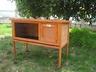 SINGLE RABBIT GUINEA PIG HUTCH WITH LEGS HVY DUTY WIRE HUTCHES RUN BB-915