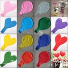 36'' Big Size Large Latex Balloon Heart Helium Hydrogen Kid Birthday Party Decor