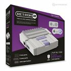 RetroN 2 2 in1 Super Nintendo SNES NES Retro Video Game Twin Console - Grey