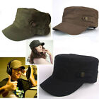 Cool Hot Classical Unisex Adjustable Jeep Flat Military Cadet Sun Cap Hat