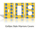 Golden State Warriors Light Switch Covers Basketball NBA Home Decor Outlet on eBay