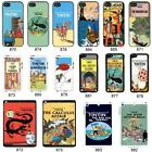 TinTin cartoon cover case for Apple iPhone iPod & iPad No. 11