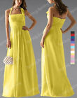 CUSTOM MADE New Halter Bridesmaid Formal Wedding Prom Gown Evening Dress SP189 L