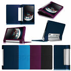 Slim Folio Leather Case Cover for Lenovo Yoga 8 8-Inch Android Tablet Sleep/Wake