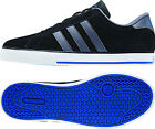 Men's Adidas NEO SE Daily Vulc Black Suede Lifestyle Fashion Shoes F38537 Sz8-14