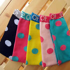Korean Sweet Children Kid Candy Color Polka Dot Baby Socks Girl Socks Tights