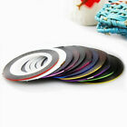 Fashion 10 Mix Color Roll Striping Tape Line for Nail Art Decoration Sticker DIY