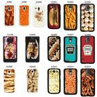 Food Snacks cover case for Samsung Galaxy No. 17