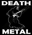 Death Metal T-Shirt Der Sensenmann Heavy Metal Rock Gig Original Design Hart