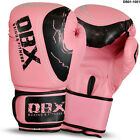 Boxing Gloves Sparring Gloves Punch Bag Training MMA Mitts Ladies Pink 10oz-12oz