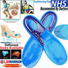 Work Boots Feet Arch Support Orthotic Absorb Shock Gel Massaging Shoe Insoles <br/> UK Size 3 - 12 Available✔ Pain Relief ✔Comfortable✔