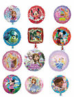 Disney Character Birthday Party Foil Balloons Frozen, Mickey, Minnie, Princesses