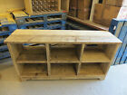 BRITISH MADE RUSTIC SOLID WOOD SIDEBOARD / CABINET / TV STAND / STORAGE