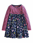 *BNWT* Little Joules Jnr Hayley Mix & Match Dress - Horsey Dolly Mixture - AW14