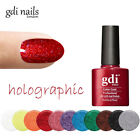 NEW GDI NAILS LONDON SOAK OFF UV/LED FINE GLITTERS GEL NAIL POLISH 8ML