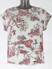 New Ladies Next Pink/cream Floral print tunic Top  Size 10 12 14 16 18 RRP - £25