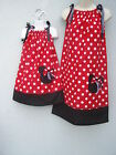 Minnie Mouse Mother & Daughter Dresses ANY SIZE 4-12 Yrs  Multi-col Easter Day