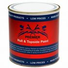 Premier Hull and Topside Topcoat Boat Paint - 1 Litre - Colours Available
