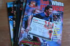 Sunderland Home Programmes 1998 (all with tickets) - Very good condition