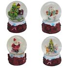 Christmas Decoration 60mm Mini Snow Globe - 4 Designs to Choose
