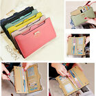 Lovely Women Lady Button Purse Clutch Wallet Card bag Photo Holder Handbag