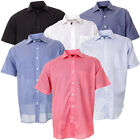 Mens Rock & Rock Summer Casual Short Sleeve Shirt Casual Loose Fit In 6 Colours