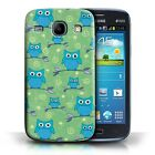 STUFF4 Phone Case/Back Cover for Samsung Galaxy Core /Cute Owl Pattern