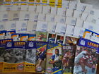 Leeds Rugby League Home Programmes 1980 - 1994 Choose individual programmes