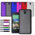 Ultra Slim Hard Case Cover for HTC Desire 610 Free Screen Protector + Stylus Pen