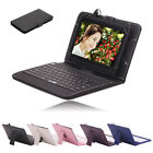 "IRULU 7"" 8GB 1024*600 HD Tablet PC Google Android 4.4 Quad Core Cam w/ Keyboard"