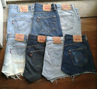 LEVIS VINTAGE Womens High Waisted denim shorts hotpants Waist 31 33 34 35 36