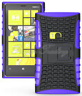 Hybrid Rugged Rubber Case Heavy Duty Armor Hard Cover For Nokia Lumia 920 +Film