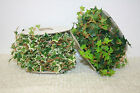 5m roll of ivy garland artificial non wired wedding flowers wrap around outdoor