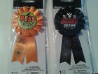 Halloween Award Ribbons - Best Pumpkin, Best, Funniest & Scariest Costume