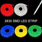 3528 LED strip + lead wire waterproof adhesive back red white blue yellow green